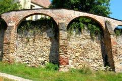 Stärkte medeltida kyrkliga Biertan, Transylvania Royaltyfri Bild