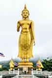 Stå Buddha Arkivbild