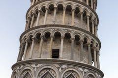 Stå hög av Pisa, Italien Arkivfoto