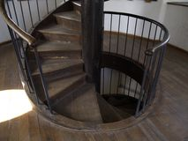 Stå hög trappa Arkivfoto