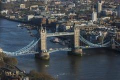 Stå högt bron, sikt från himmelträdgården Arkivbilder