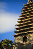 Stå högt i templet för fem pagod, Pekingï¼ ŒChina Royaltyfri Foto