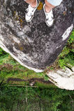 Stå på kullen Royaltyfri Foto
