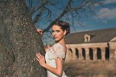 Stående av bruden Royaltyfri Foto