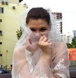 Stående av bruden Fotografering för Bildbyråer