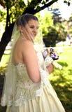 Stående av bruden Arkivbilder