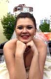 Stående av bruden Royaltyfri Bild