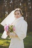 Stående av bruden i natur 3939 Royaltyfria Bilder