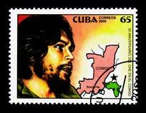 stående av Che Guevara, revolutionärserie, circa 2000 royaltyfri bild