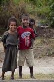 Stående av de afrikanska barnen Arkivbilder