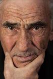 Stående av den äldre mannen Fotografering för Bildbyråer