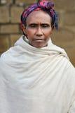 Stående av den afrikanska kvinnan Royaltyfri Foto