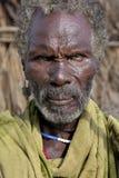 Stående av den afrikanska mannen Arkivfoto
