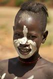 Stående av den afrikanska pojken Arkivbilder
