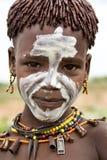 Stående av den afrikanska pojken Royaltyfria Bilder
