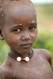 Stående av den afrikanska pojken Royaltyfria Foton