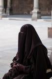 Stående av den arabiska kvinnan Arkivfoton