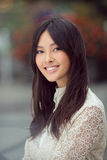 Stående av den asiatiska kvinnan royaltyfria foton