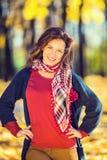 Stående av den unga härliga kvinnan Fotografering för Bildbyråer