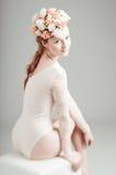 Stående av den unga kvinnan Royaltyfri Foto