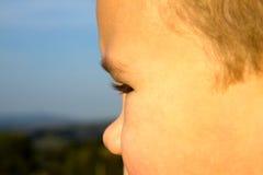 Stående av den unga pojken Fotografering för Bildbyråer