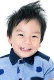 Stående av det lyckliga asiatiska barnet royaltyfri foto