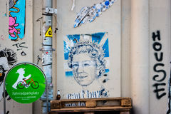 Stående av drottningen Elizabeth II Royaltyfri Fotografi