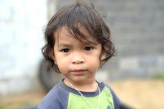 Stående av en asiatisk pojke Royaltyfri Fotografi