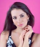 Stående av en flicka Fotografering för Bildbyråer