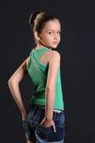 Stående av en flicka Royaltyfri Fotografi