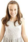 Stående av en gullig ung flicka royaltyfria bilder