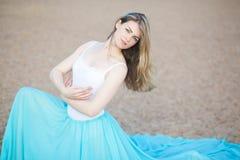 Stående av en härlig dansare Arkivfoton