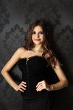 Stående av en härlig flicka. Royaltyfria Foton