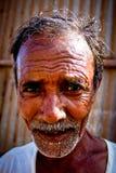 Stående av en indisk man Julian Bound Arkivbilder