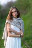 Stående av en italiensk flicka Royaltyfri Fotografi
