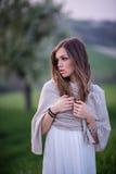 Stående av en italiensk flicka Royaltyfri Foto