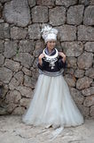 Stående av en kinesisk kvinna Royaltyfri Fotografi