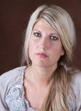 Stående av en medelåldrig kvinna 30-40 Arkivfoton