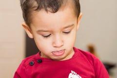 Stående av en pojke Royaltyfri Fotografi