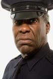 Stående av en polis Arkivbild
