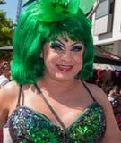 Stående av en posera transvestit Royaltyfria Bilder