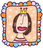 Stående av en prinsessa Royaltyfri Bild