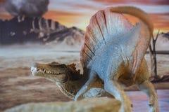 Stående av en spinosaurus royaltyfria foton