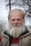 Stående av en svensk gammal fiskare Royaltyfri Foto