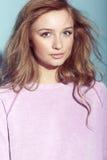 Stående av en tonårs- flicka Royaltyfria Bilder