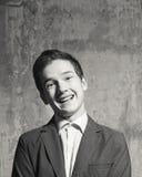 Stående av en ung man fotografering för bildbyråer