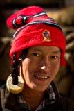Stående av en ung man från Tibet Royaltyfri Bild
