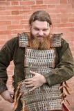 Stående av en Viking Arkivbilder