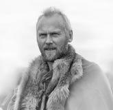 Stående av en Viking Royaltyfria Foton