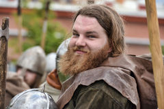 Stående av en Viking Fotografering för Bildbyråer